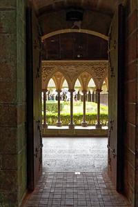 Réfectoire des moines - Le cloître