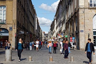 Place de la Mairie - Rue d'Estrées