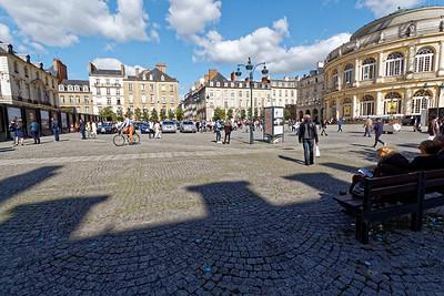 Place de la Mairie - Opéra