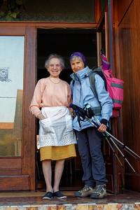 25-09 Etape 5 : Grauftahl - Lichtenberg, notre hôtelière (92 ans)
