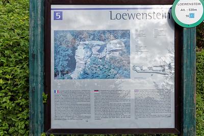 21-09 Etape 1 : Gimbelhof - Chateau de Loewenstein