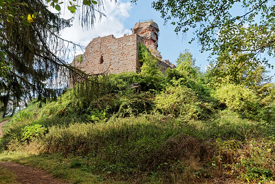 21-09 Etape 1 : Gimbelhof - Chateau de Hohenbourg