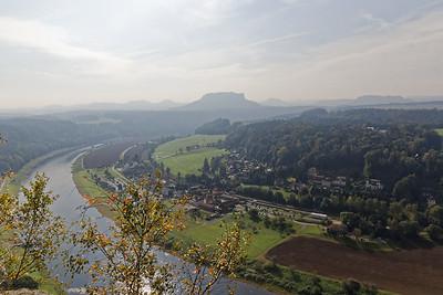 Elbe, Oberrathen et le massif du Königstein
