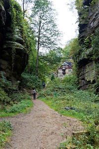 Amselgrund, montée à Rathewalde