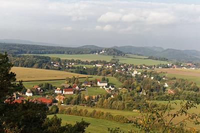 Reinhardtsdorf-Schöna vu du Kaiserkrone