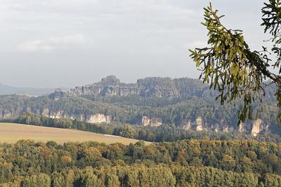 Massif du Schrammstein (4ème étape)