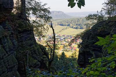 Montée au Pfaffenstein - Pfaffendorf