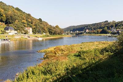 Elbe à Königstein
