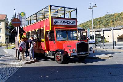 Bus pour la forteresse