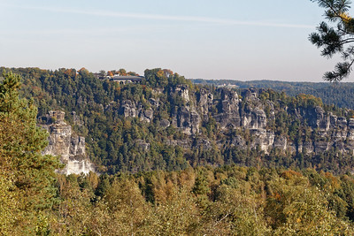 Massif du Bastei (2ème étape)
