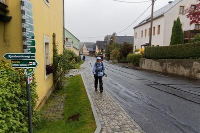 Altendorf - Départ sous la pluie
