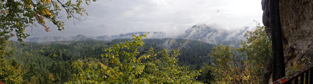 Kühstall : Panorama sud-est