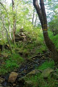 Sous Le Bois - Remontée après le ruisseau près du Moulin du Mas