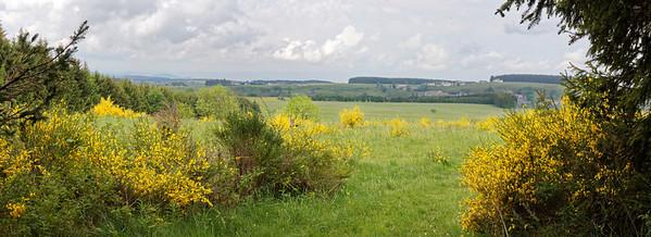 Bois de Chaudeyrac, vue sur St Front