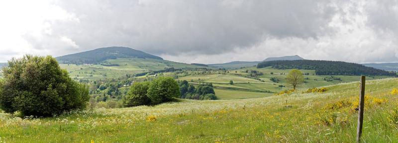 Bouchet Haut - Panorama Monts Signon et Mézenc