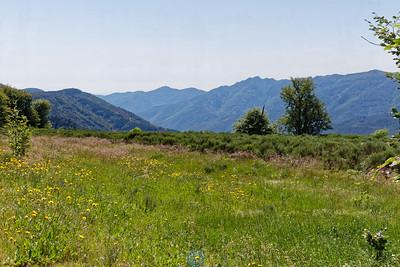 Au dessus de la vallée de l'Ardèche