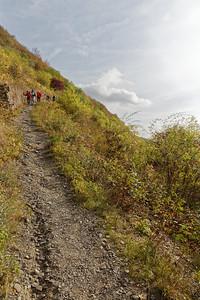 Descente à Braubach sous le Marksburg