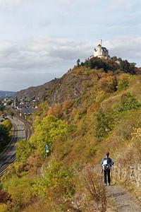 Descente à Braubach vers Martinskapelle