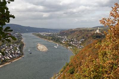 Spay, Braubach et Marksburg