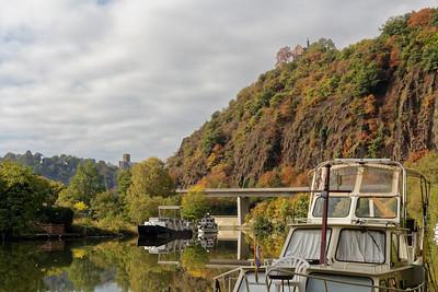 La Lahn, Burg Lahneck
