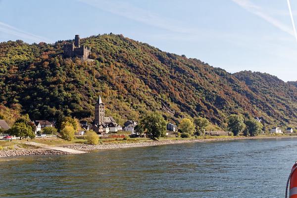 Wellmich et Burg Maus