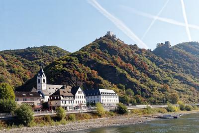 Bornhofen, Burgen Sterrenberg et Liebenstein