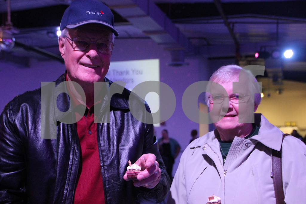 It's A Chocolate Thing was held at Fort Frenzy in Fort Dodge on Sunday, November 8, 2015. Pictured are: (left to right): Dennis  and Eleanor DenHartog, who came to the event.