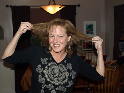 Marianne is funny. Thanksgiving 2009