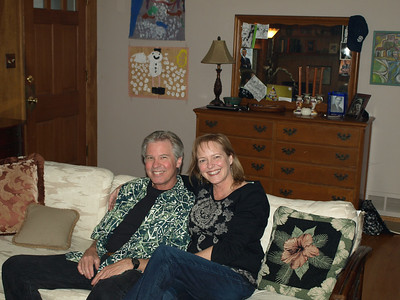 Rob and Marianne. Thanksgiving 2009