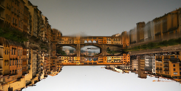 A Reflection on Ponte Vecchio