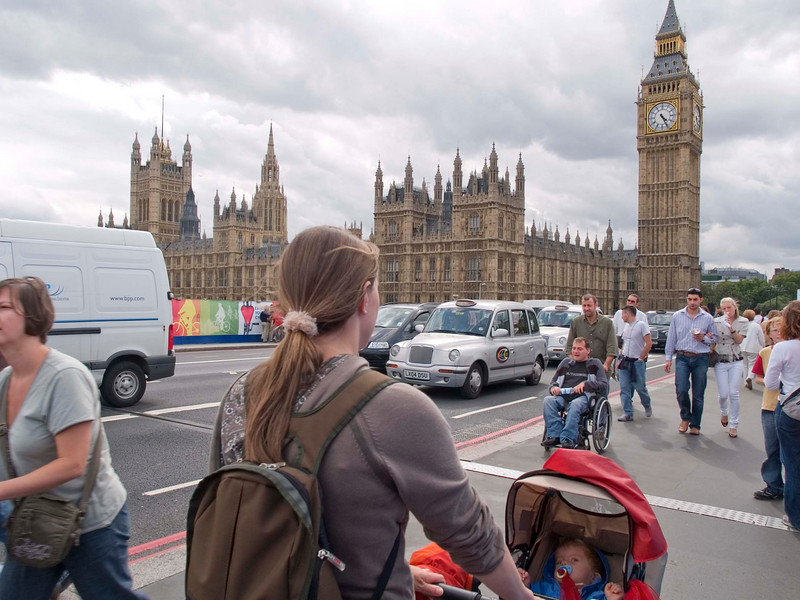 """Saturday 28th July 2007 - Cai asks """"BIG Ben"""" for the time"""