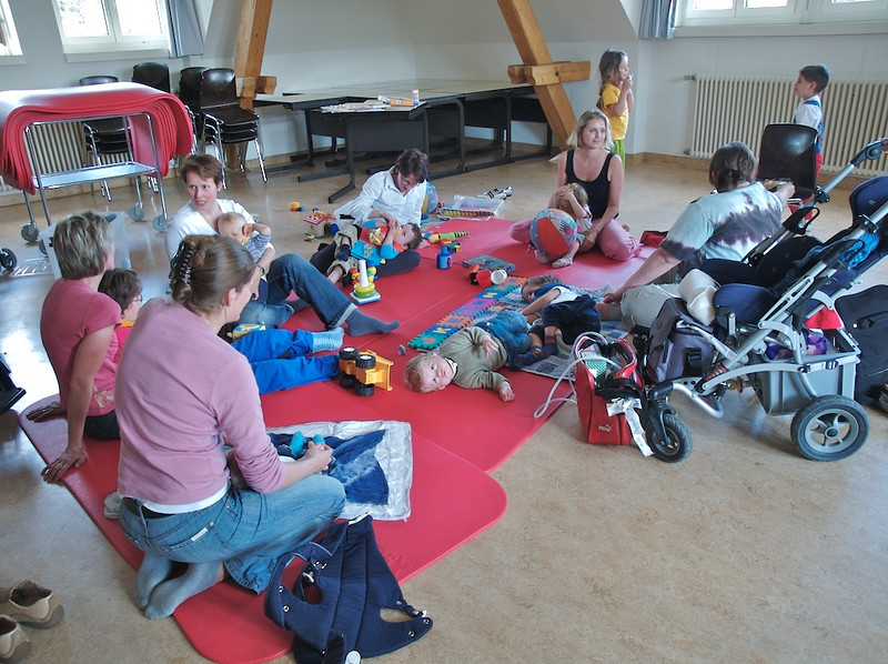 Sunday 6th May 2007 - The playgroup is a success.<br /> <br /> Kerstin needn´t have worried and her effort is rewarded with a successful playgroup, those that came really enjoyed it and  said they will be back for the next one. Now we just need to find a  sponsor for the room :-)