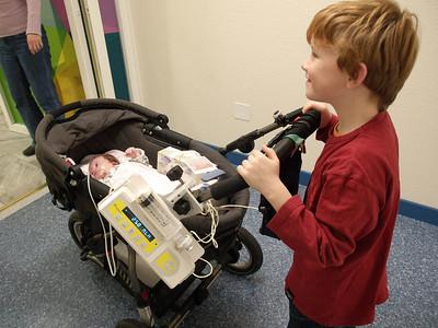 Cai moves back to the  Intermediate care unit 29.11.05 - 31.12.05