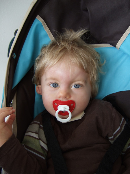 Sunday 16th Sep 2007 - Cai looks relaxed before his appointment