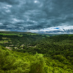 A beautiful viewpoint in South Yorkshire