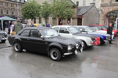 Preserved Ford Escort Line Up Falcon Square Invss 1 May 14