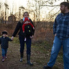 Baldwinsville, NY, 12-03-17: The brooks family looks for a tree in 2017.