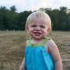 08/05/2016 Minetto Ny, A close up of a Smiley child in a field.