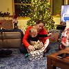 Christmas eve at Jessica Brooks house 2016.
