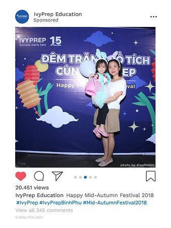 IvyPrep Education - Mid Autumn Festival 2018 Photo Booth @IvyPrepBinhPhu - Chụp hình in ảnh lấy liền Trung Thu 2018