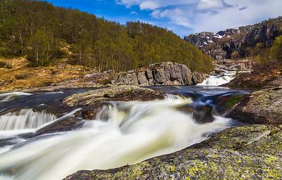 Grøttelandsfossen, Bjerkreim Kommune