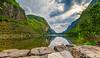 Gloppedalsvatnet og Gloppedalsura i Gjesdal Kommune