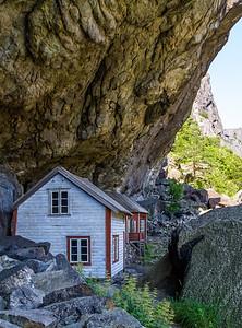Helleren ved Jøssingfjord, Sokndal kommune