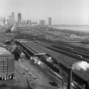 2021.004.3.013-07--j david ingles 120 neg--ICRR--view looking north at Central Station (12th) on its last day in service--Chicago IL--1972 0305