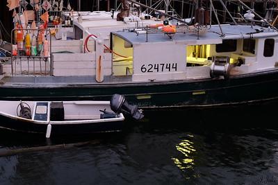 Lobster Boat at Dusk