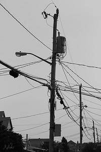 Beach Telephone Pole