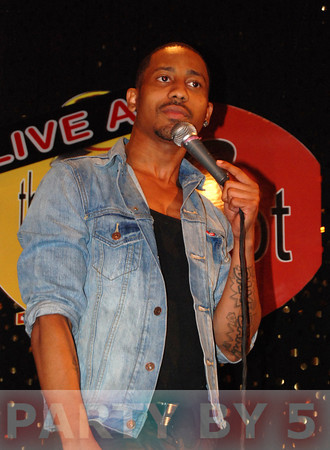 Brandon T. Jackson Headlines at J-Spot