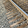 The technology of rail tracks developed over a long period, starting with primitive timber rails in mines in the 17th century.