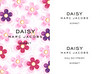MARC JACOBS Daisy Sorbet Limited Edition 2015 recto-verso tester card 6 x 8 cm