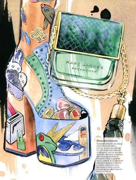 MARK JACOBS Decadence 2016 Spain (advertorial Fashion & Arts) 'Bendito exceso'